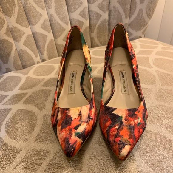 Multi Color Kitten Heel Shoe | Poshmark